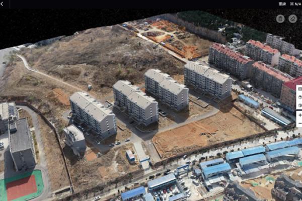 便携式大疆无人机三维实景建模方案辅助高校工程建设