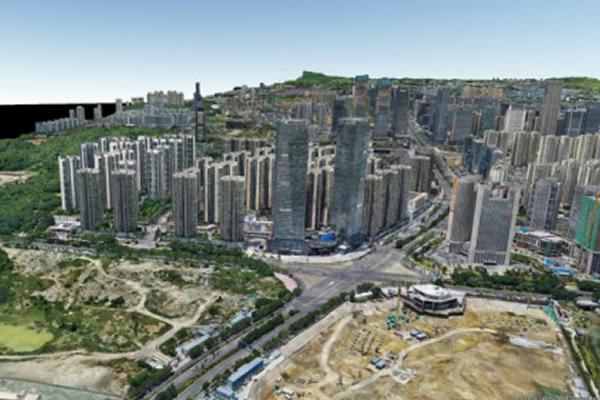 助力贵州数博大道建设,精灵4Pro2.0搞定114平方公里倾斜摄影测量 | 无人机三维实景建模