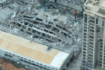 事故现场数字化,无人机三维实景建模助力泉州酒店应急救援