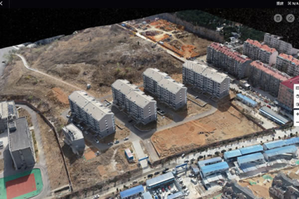 便携式湖北大疆无人机航测解决方案辅助高校工程建设