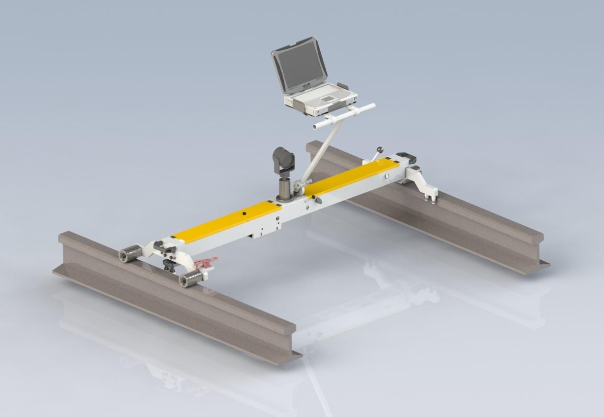 纵横天地轨道静态测量小车