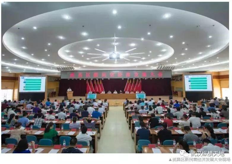 创新突破 高速发展 武汉纵横天地董事长陈磊受邀参加武昌区新民营经济发展大会