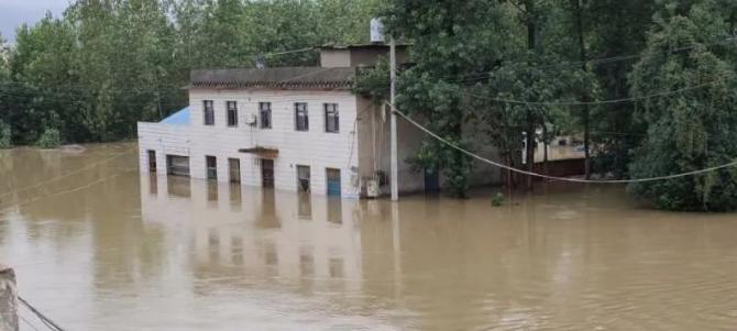 精灵4RTK驰援湖北阳新富河救灾防汛一线 | 纵横人在行动