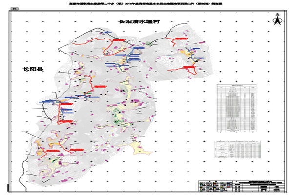 【国土】宜都市高标准基本农田土地整治设计项目